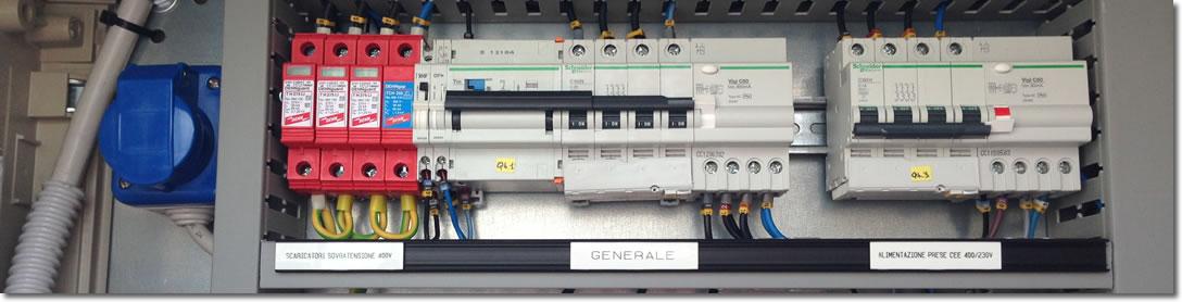 Schemi Cablaggi Elettrici : Cablaggio quadri elettrici bologna